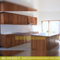 Kitchen Cabinet Minimalis Kayu Jati
