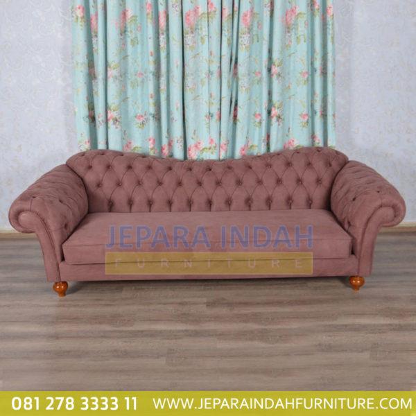Sofa Model Minimalis Kayu Jati Klasik