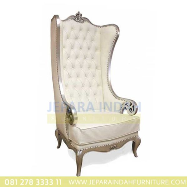 Kursi Sofa Atique Silver Alice Arm Chair