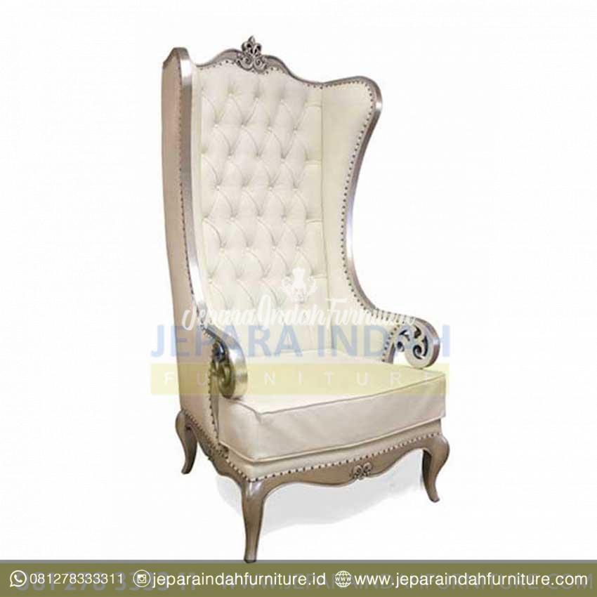 Kursi Sofa Atique Silver Alice Arm Chair