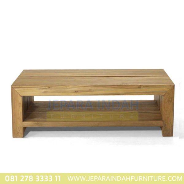 Meja Tamu Minimalis Jati Untuk Ruang Tamu