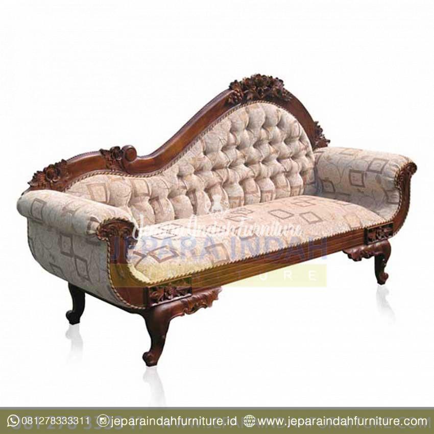 Sofa Tampar Antik Ukiran Jati