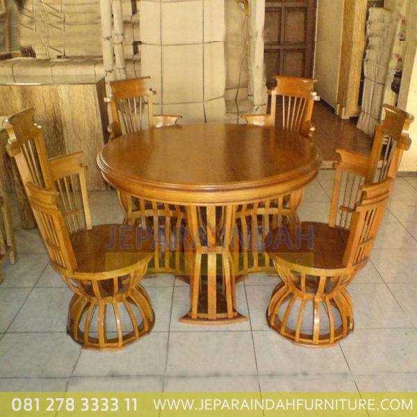 Jual-Set-Kursi-Meja-Makan-Mangkuk-Kayu-Jati-Jepara