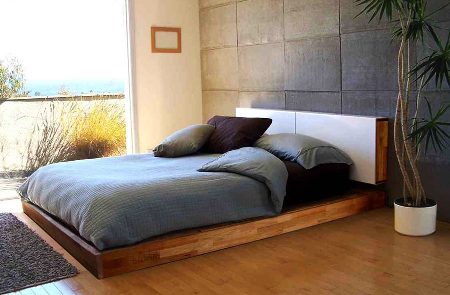 Desain Ranjang Kamar Tidur Minimalis