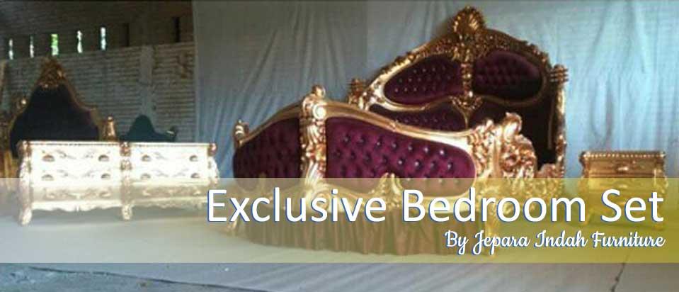 Exclusive Bedroom Set By Jepara Indah Furniture