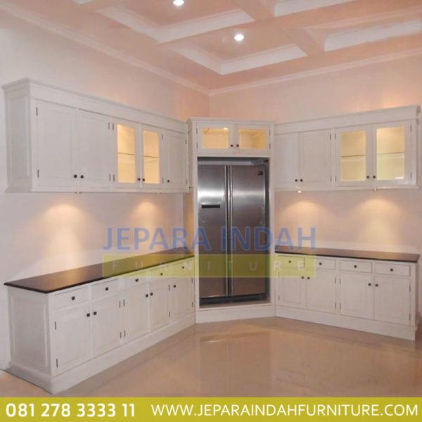 Harga Jual Kitchen Cabinet Duco Putih