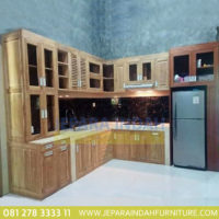 Harga Jual Kitchen Cabinet Jati Minimalis