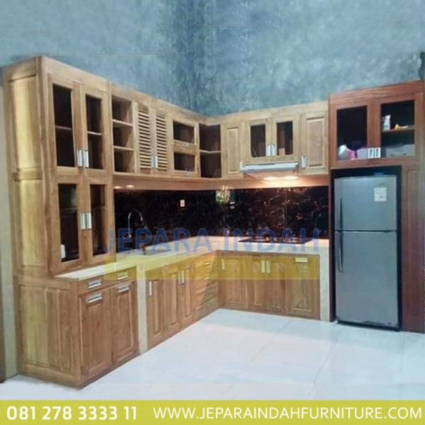 Kitchen Set Jati Minimalis: Kitchen Cabinet Jati Minimalis Kualitas Terbaik By Jepara