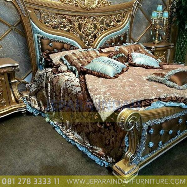 Harga Jual Tempat Tidur Mewah Eksklusif Ukir Jepara