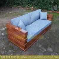 Harga Jual Sofa Jati Minimalis 2 Seater
