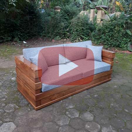 Harga Jual Sofa Jati Minimalis 2 Seater Murah