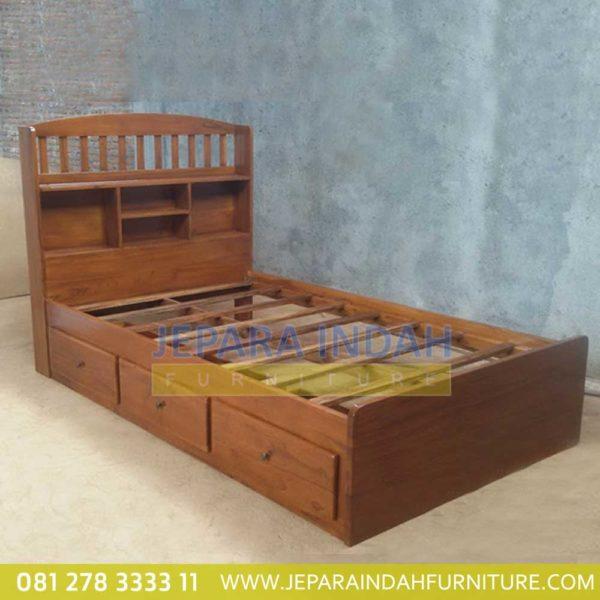 Pusat Jual Tempat Tidur Anak Kayu Jati (BRF TTA 001)