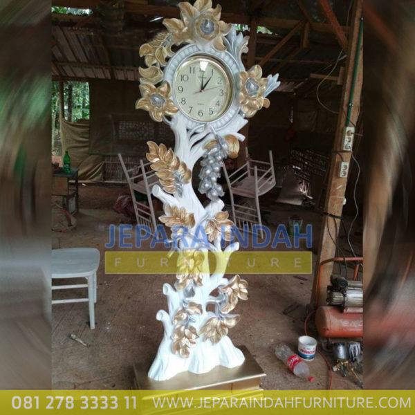 Harga Jual Jam Hias Model Pohon Mewah (LRF LJH 018)