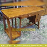 Harga Jual Meja Komputer Jati Terbaru (OFF MJK 012)