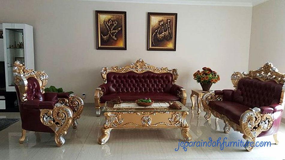 Furniture Jepara Mewah untuk Ruang Tamu