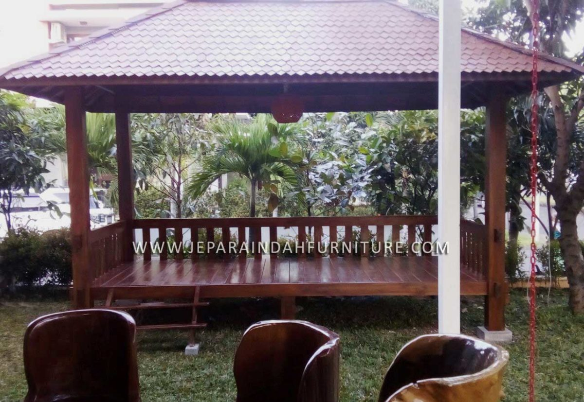 Pusat Gazebo Taman Model Terbaru Harga Murah Produksi Jepara Indah Furniture